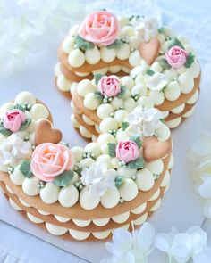 25 Mesmerizing Number Cakes that are Real Show-Stoppers Find me something to eat ! Cookies Et Biscuits, Cake Cookies, Cupcake Cakes, Beautiful Cakes, Amazing Cakes, Bolo Nacked, Plat Halloween, My Favorite Food, Favorite Recipes
