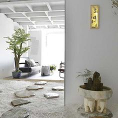 入户玄关简单明了,我们只是五明,五明原创设计工作室 Exterior Design, Interior And Exterior, Japan Room, Japanese Modern, Corridor, Apartment Design, Interior Inspiration, Architecture Design, Indoor
