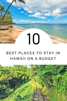 Want to see the best Hawaii has to offer on a limited budget? We're breaking down the best places to stay in Hawaii based on average rental prices. Use this handy guide to help you decide which island to visit in Hawaii—and where to stay without breaking the bank. Book a TripAdvisor rental for big savings! Hawaii Vacation Rentals, Hawaii Destinations, Hawaii Travel, Vacation Trips, Travel Usa, Travel News, Free Vacations, Aloha Hawaii, Big Island
