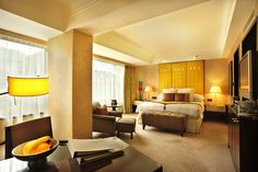 InterContinental Hong Kong #hotel Deluxe Plazaview #room