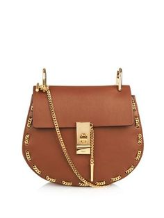 Drew threaded-chain shoulder bag | Chloé | MATCHESFASHION.COM