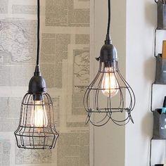 Industrial Wire Lighting.