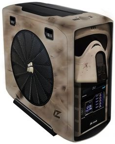 Star Wars Scout Trooper PC Case Mod - Dorkly Picture May the Fourth be with you! Pc Cases, Computer Build, Gaming Computer, Console Pc, Star Wars Pc, Case Mods, Decoracion Star Wars, Pc Tower, Gaming Pcs