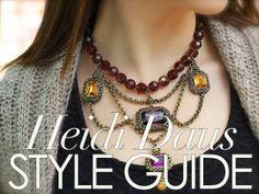 How we style Heidi Daus jewels.