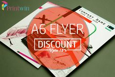 Cheap folded leaflet printing at just 3250 printwin print your cheap a6 flyer in uk discount upto 20 cheap printingprinting services flyersbusiness reheart Image collections