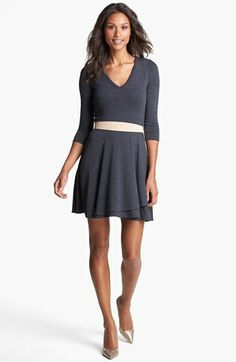 Three Dots makes the best tees--love this dress from them. (The hem is awesome.)