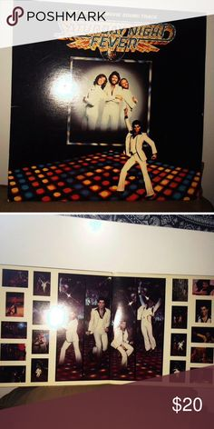 """Saturday Night Fever soundtrack vinyl. 💿selling the soundtrack of the movie """"Saturday night fever"""" which includes the hit song """"Stayin' Alive"""" by the Bee Gees which I'm sure you all have heard of.😉 this record is an original pressing and is in perfect condition!!!💿 #vinyl #music #vinylrecords #70s #disco #soundtrack Other"""