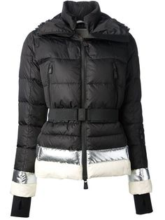 Shop Moncler Grenoble metallic trim padded jacket in -Renaissance- from the world's best independent boutiques at farfetch.com. Over 1000 designers from 300 boutiques in one website.