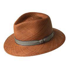 Men s Bailey of Hollywood Brooks 22721 - Sepia Hats. Panama Hat ... f9f7ff0b1ae