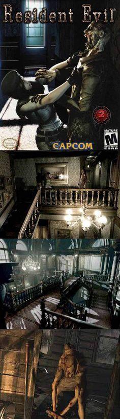 Zombie Video Games, Playstation, Xbox, Resident Evil Game, Mega Man, Nintendo, Horror, Survival, Explore