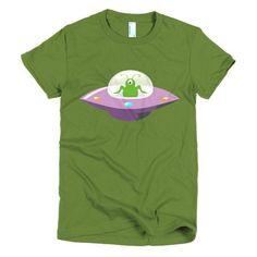Flying Saucer - Women's Short Sleeve T-Shirt