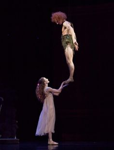Peter Pan:) Houston Ballet