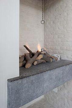 Chimenea moderna  #Chimeneas  #Fireplace  #decor #living #salón