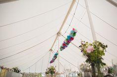 Meg and Neil's Woodland Themed Farm Wedding by Hannah Hall Photography Farm Wedding, Boho Wedding, Wedding Blog, Paper Pom Poms, Woodland, Fair Grounds, Photography, Photograph, Paper Poms