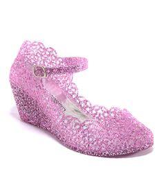 Pink Alesha Wedge