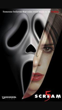 Movie Poster Fan Artwork of Scream 5 Horror Posters, Horror Icons, Cinema Posters, Horror Art, Movie Posters, Scream Franchise, Ghostface Scream, Scream Movie, Scream 1