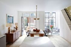Dining Room - Open Place - Kitchen Ideas - Notting Hill - Modern Townhouse - Home Design