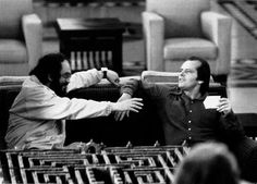 Kubrick and Nicholson.