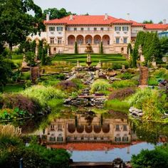 Philbrook Museum of Art - Art Museums - Visit the spectacular garden with 25 acres of stunning sights and sculptures at the Philbrook Museum of Art