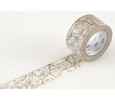 mt Washi Tape  Map 25mm X 10M by pikwahchan on Etsy, $4.50