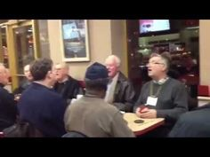 This Senior Acapella Group Singing 'Can You Feel The Love Tonight' In A Restaurant