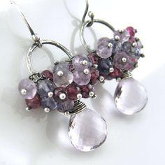 ON SALE 20 OFF Statement Jewelry Gemstone by JenniferCasady, etsy