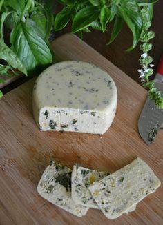 Vegan Pesto Cashew Cheese
