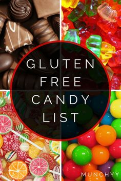 Gluten Free Candy List – The Ultimate Guide