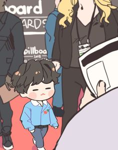 Credits to the artist for this amazingly adorable Yoongi art. He is chibi and I approve Bts Memes, Bts Ships, Vhope Fanart, V Chibi, Dibujos Cute, Bts Drawings, Bts Fans, Min Suga, Foto Bts
