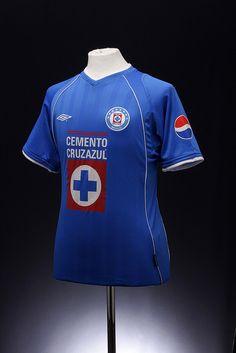 Cruz Azul Football Shirt (home, 2001 - 2003)