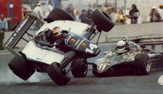 Elio De Angelis & Roberto Guerrero ~ 1982 Detroit GP