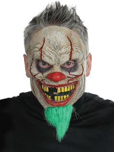 Costume Mask: Bad News Clown Mask - 1 Units