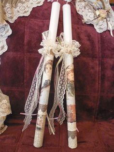 Decoupage, Easter Crafts, Easter Ideas, Palm Sunday, Candels, Easter Candle, Plant Hanger, Happy Easter, Ladder Decor
