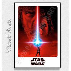Тhe Last Jedi Star Wars Poster Star Wars Prints, Wall Art For Sale, Star Wars Poster, Star Wars Tshirt, Last Jedi, Sale Poster, Custom Framing, Online Printing, Poster Prints
