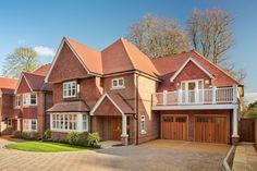 Best Large House Builder. Architect: Linden Homes Specialist Brickwork Contractor: Landmark  Brick: Ibstock - Heritage Red Blend