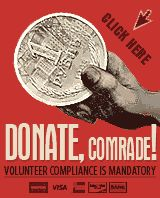 Donate, comrade!   #Obamacare #Propaganda