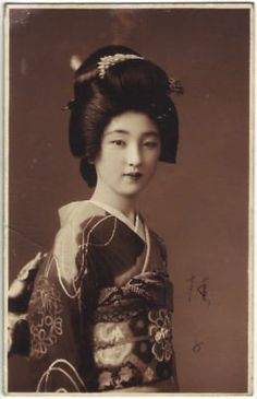 vintage photos of old time japan