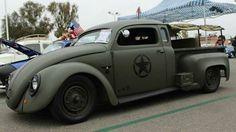 Military VW Beetle Pick Up