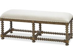 Universal Furniture New Bohemian Oak Accent Bench