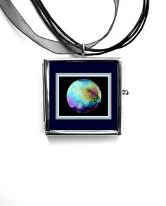 JEWELRY Photo Locket Sunset Garden Gazing Ball by LovesParisStudio, $15.00