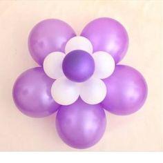 1pcs ciruela globo clip lazo conectado boda decoración en Banggood