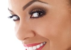 Pretty makeup colors for girls with light-medium brown skin tone