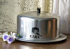 Vintage Cake Keeper West Bend by cynthiasattic on Etsy, $23.00