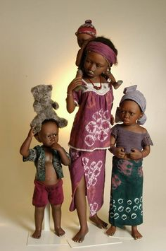 .Bets and  Amy van Boxel dolls