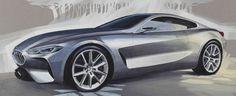 BMW CONCEPT 8 SERIES, ELEGANT SPORTINESS - Auto&Design