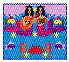Musical Mermaids Necklace by Elizabeth Ann Scarborough