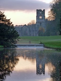 Fountains Abbey  - Lindrick with Studley Royal & Fountains, North Yorkshire - Cistercian Order - Dissolved 1539
