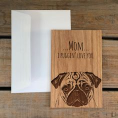 Mother's Day Card Funny Mothers Day Card I by MineByDesignStudio