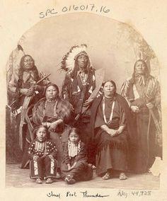 Hunkpapa Sioux family