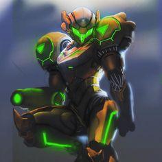 Metroid Samus, Samus Aran, Nintendo Characters, Video Game Characters, Zero Suit Samus, Super Metroid, The Legend Of Heroes, Armor Concept, Fantasy Inspiration